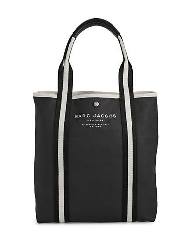 Marc Jacobs Canvas Shopper Bag-BLACK-One Size