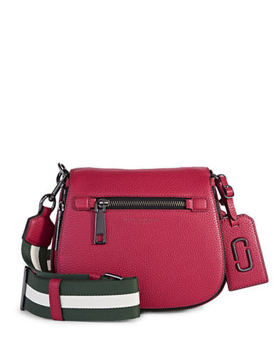 Marc Jacobs Gotham Small Nomad Crossbody Bag-RASPBERRY-One Size