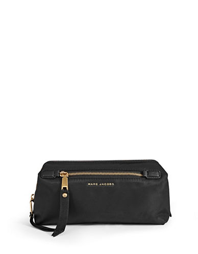 Marc Jacobs XL Framed Zip Bag-BLACK-One Size