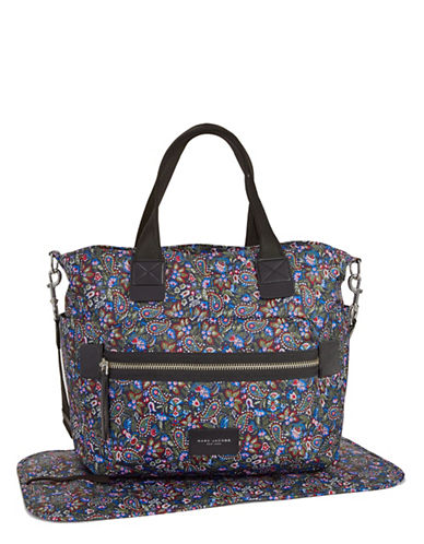 Marc Jacobs Paisley Biker Baby Bag-PURPLE-One Size
