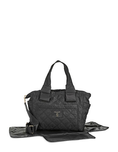 Marc Jacobs Knot Baby Bag with Changing Mat-BLACK-One Size