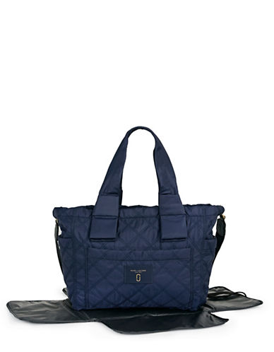 Marc Jacobs Knot Baby Bag with Changing Mat-BLUE-One Size