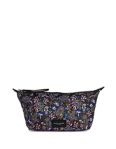 Marc Jacobs Large Paisley Wash Pouch-PURPLE-One Size