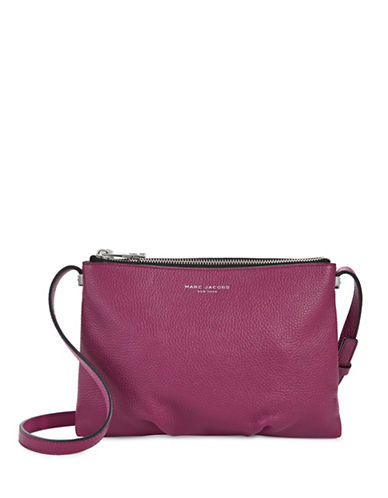 Marc Jacobs Standard Leather Crossbody Bag-PINK-One Size