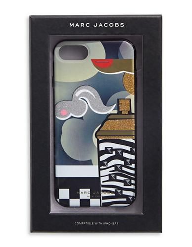 Marc Jacobs iPhone 7 Cloud Case-BLACK MULTI-One Size