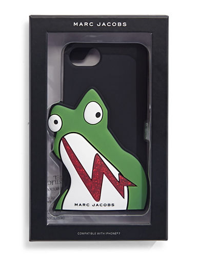 Marc Jacobs Frog iPhone 7 Case-BLACK-One Size