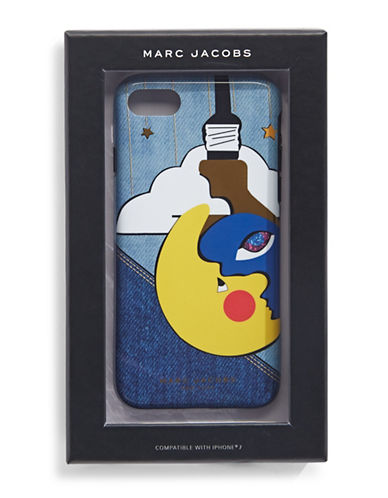 Marc Jacobs Sun and Moon iPhone 7 Case-BLACK-One Size