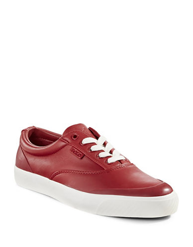 Polo Ralph Lauren Nappa Leather Sneakers-RED-12