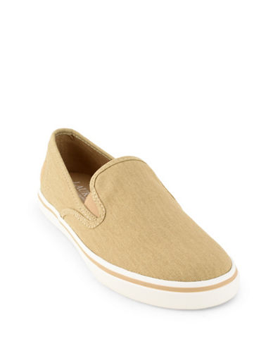 Lauren Ralph Lauren Slip-On Sneakers-TAN-7.5