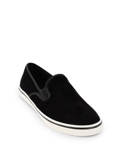 Lauren Ralph Lauren Slip-On Sneakers-BLACK-5