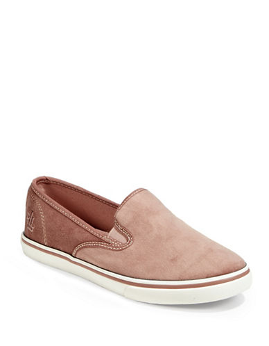 Lauren Ralph Lauren Slip-On Sneakers-PINK ROSE-8