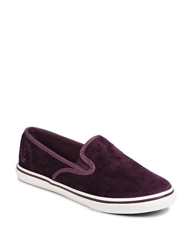 Lauren Ralph Lauren Slip-On Sneakers-PORT-8.5