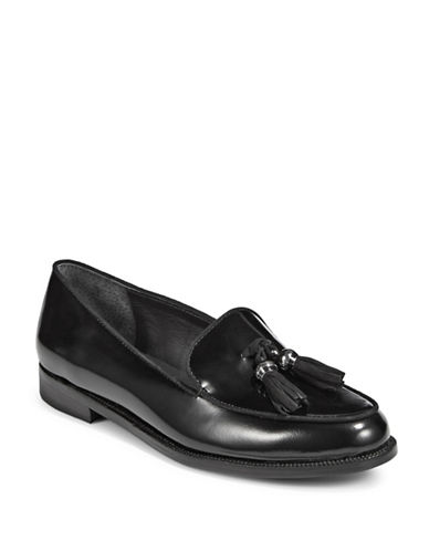 Lauren Ralph Lauren Tassel Loafers-BLACK-5