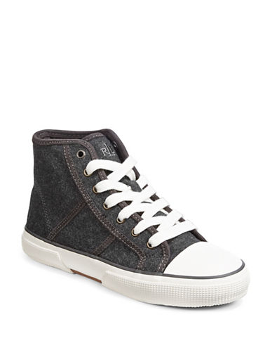 Lauren Ralph Lauren January Hi-Top Sneakers-CHARCOAL-10