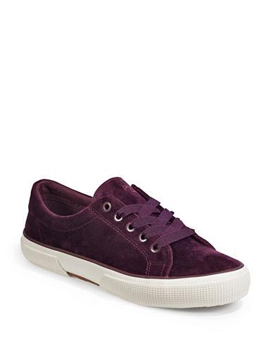 Lauren Ralph Lauren Jolie Velvet Sneakers-PORT-5