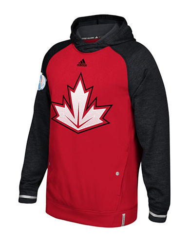 Adidas NHL MV Player Hoodie-RED-Large 88690427_RED_Large
