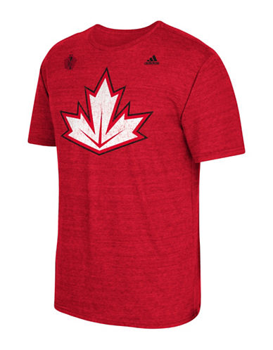 Adidas NHL T-Shirt-RED-Large 88690442_RED_Large