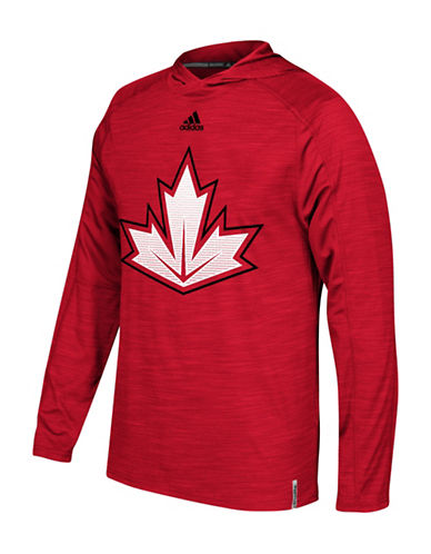 Adidas NHL Training Hoodie-RED-Large 88690452_RED_Large
