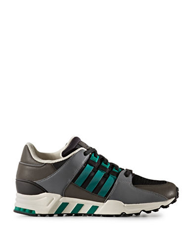Adidas Mens EQT Athletic Shoes-BLACK-9.5
