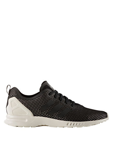 Adidas Womens ZX Flux ADV Smooth Shoes-BLACK-7