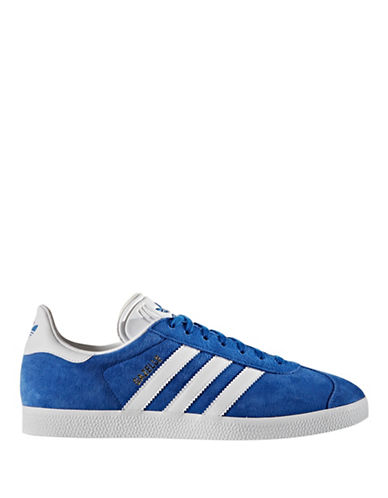 Adidas Originals Mens Gazelle Sneakers-ROYAL-12