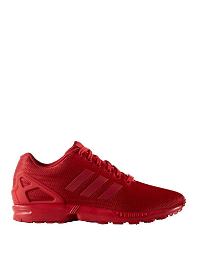 Adidas Originals Mens ZX Flux Shoes-RED-11