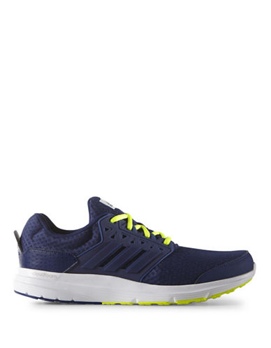Adidas Galaxy 3 Running Shoes-INK/YELLOW-11 88458449_INK/YELLOW_11
