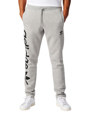Adidas Trefoil Track Pants-GREY-Small 88908116_GREY_Small