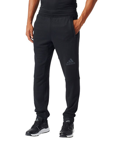 Adidas Workout Pants-BLACK-XX-Large