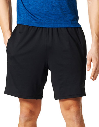 Adidas Speedbreaker Prime Shorts-BLACK-Small
