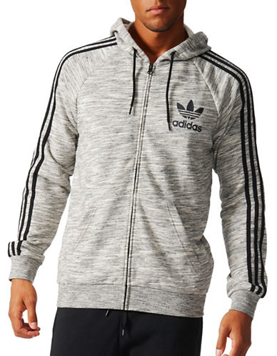 Adidas CLFN FT Zip Hoodie-GREY-X-Large 88908114_GREY_X-Large