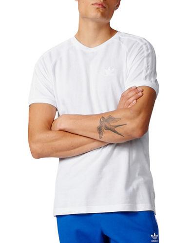 Adidas Triple Cotton Tee-WHITE-Large