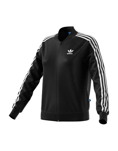 Adidas Superstar Track Jacket-BLACK-Medium