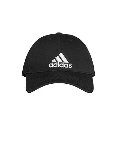 Adidas Cotton Baseball Cap-BLACK-One Size