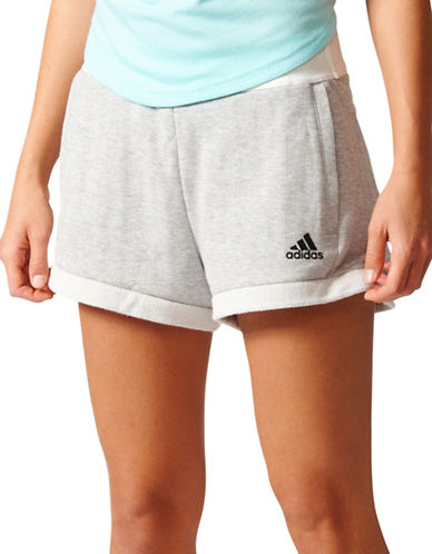 Adidas Slim-Fit Away Day Shorts-GREY-Small 89178252_GREY_Small