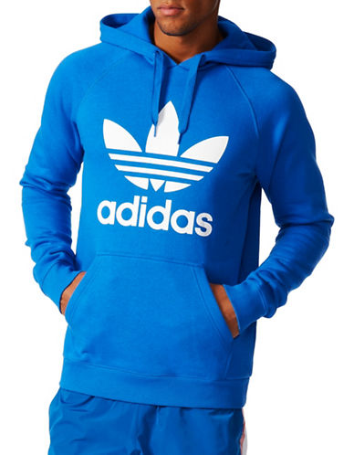 Adidas Originals Trefoil Hoodie-BLUE-Medium 88908107_BLUE_Medium