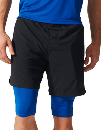 Adidas Climacool Two-in-One Speed Shorts-BLACK-XX-Large 88890709_BLACK_XX-Large