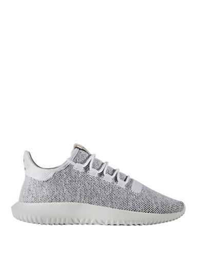 Adidas Originals Tubular Shadow Knit Slip-On Sneakers-WHITE-7.5