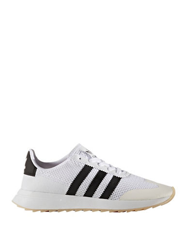 Adidas Womens Flashrunner Sneakers-WHITE-7.5