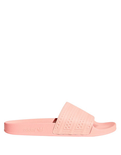 Adidas Adilette Slides-PASTEL PINK-4