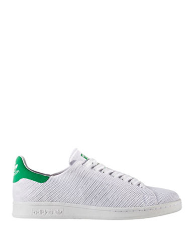 Adidas Originals Mens Stan Smith Knitted Sneakers-WHITE-10