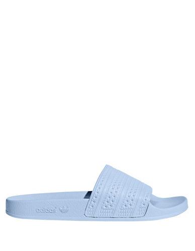 Adidas Adilette Slides-PASTEL BLUE-7