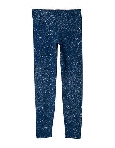 Adidas Essentials Linear Printed Tights-BLUE-Small 88982620_BLUE_Small