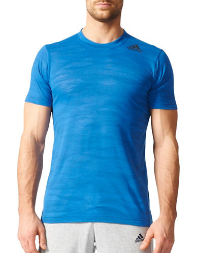 Adidas Aeroknit Climacool FreeLift Tee-BLUE-Medium 88890685_BLUE_Medium