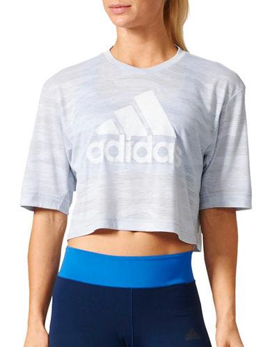 Adidas Aeroknit Boxy Crop Tee-WHITE-Large 89170800_WHITE_Large