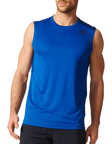 Adidas Climacool Sleeveless Tee-BLUE-Small 89196592_BLUE_Small