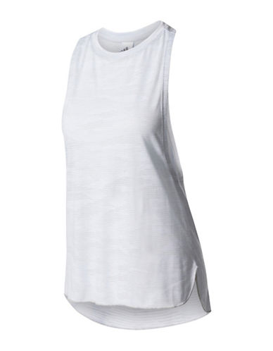 Adidas Aeroknit Boxy Tank-WHITE-Medium