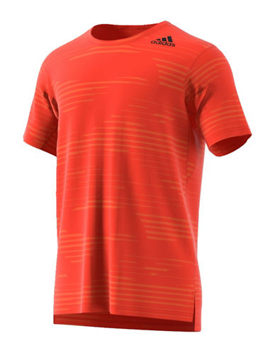 Adidas Aeroknit Climacool FreeLift Tee-RED-Large 88890691_RED_Large