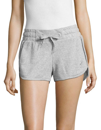 Reebok Knit Track Shorts-GREY-Medium 89171202_GREY_Medium