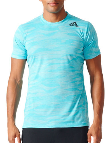 Adidas Climacool Aeroknit FreeLift T-Shirt-BLUE-Small 89036241_BLUE_Small